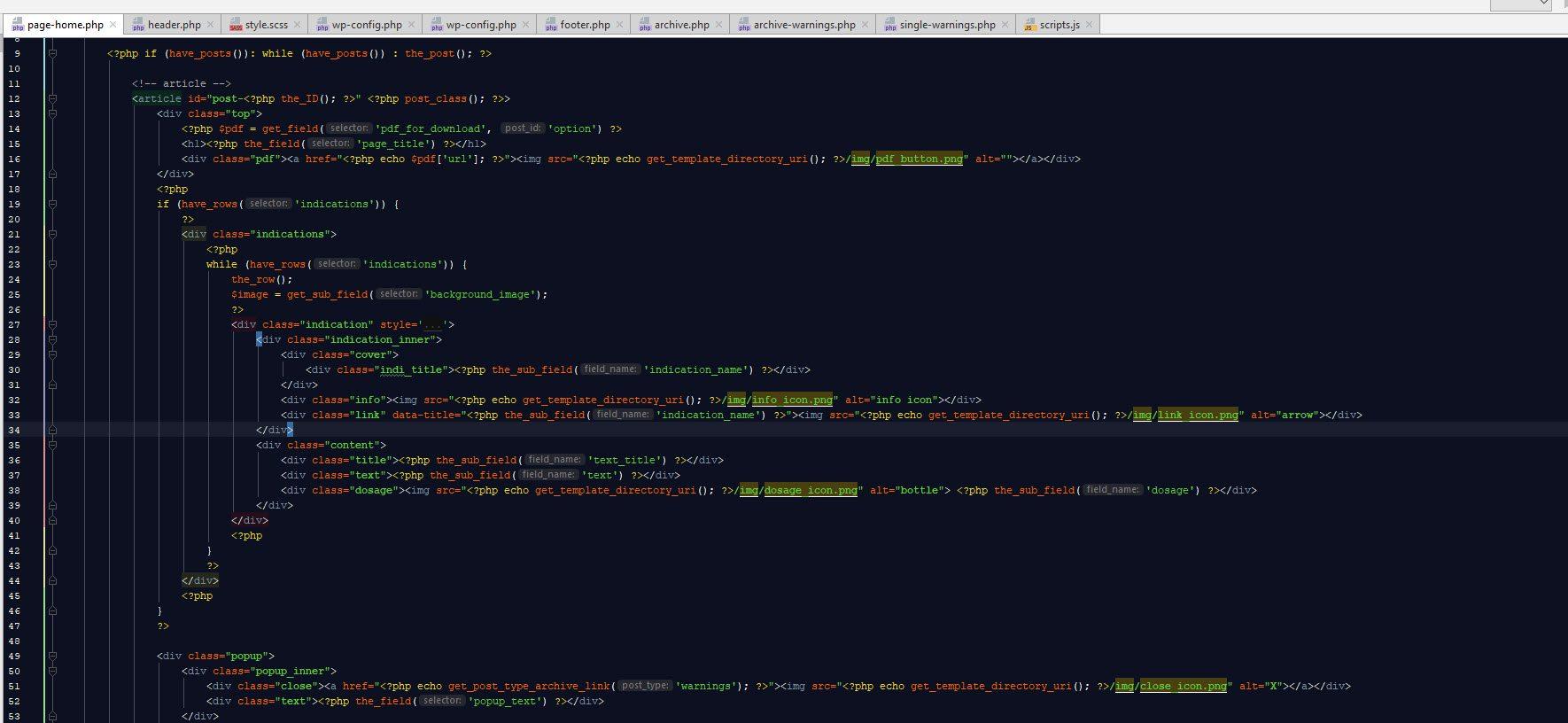 קוד פיתוח אתרים